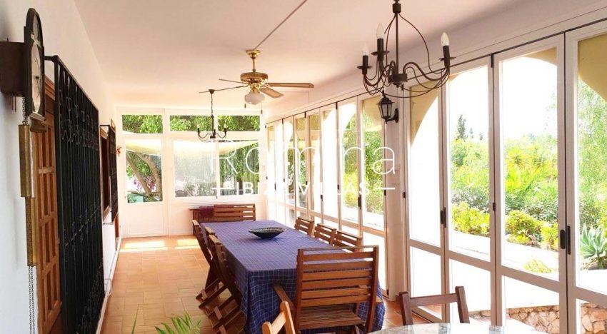 casa ula ibiza-3veranda dining area