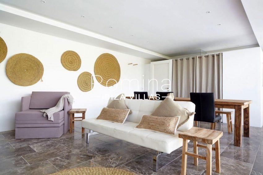 villa esmeralda ibiza-living dining room guest house