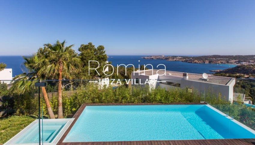 villa lince ibiza-1pool sea view