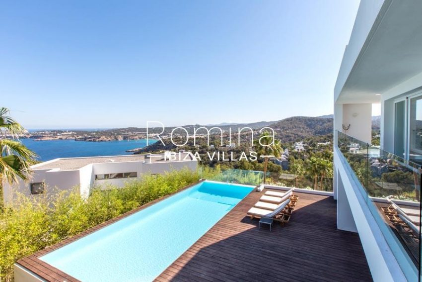 villa lince ibiza-1pool sea view2