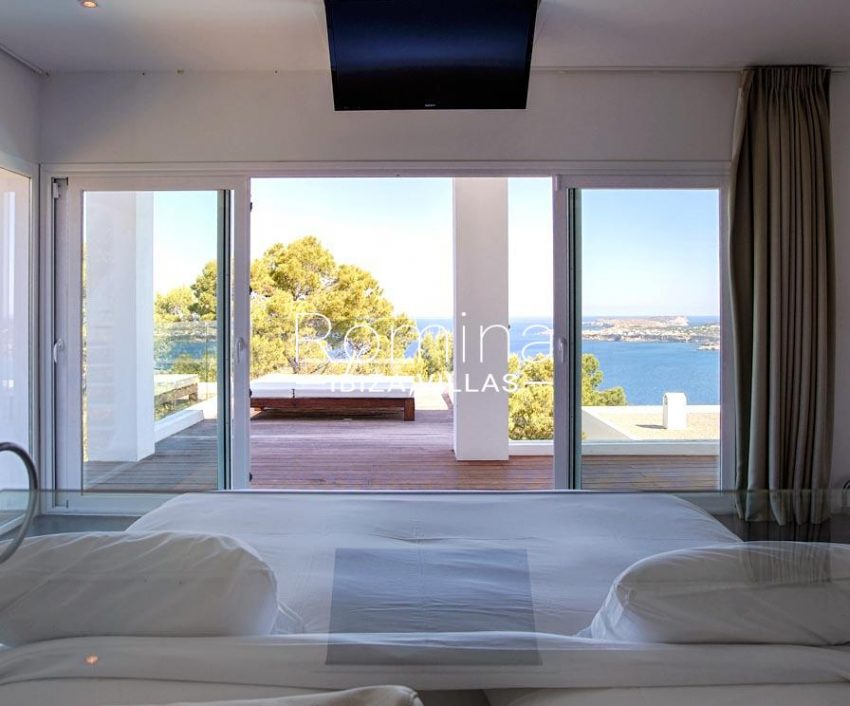 villa moli ibiza-4bedroom terrace sea view