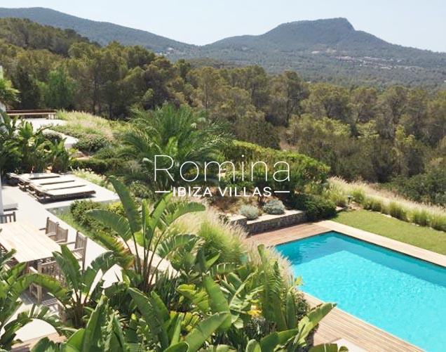 villa namaste ibiza-1pool view hills2