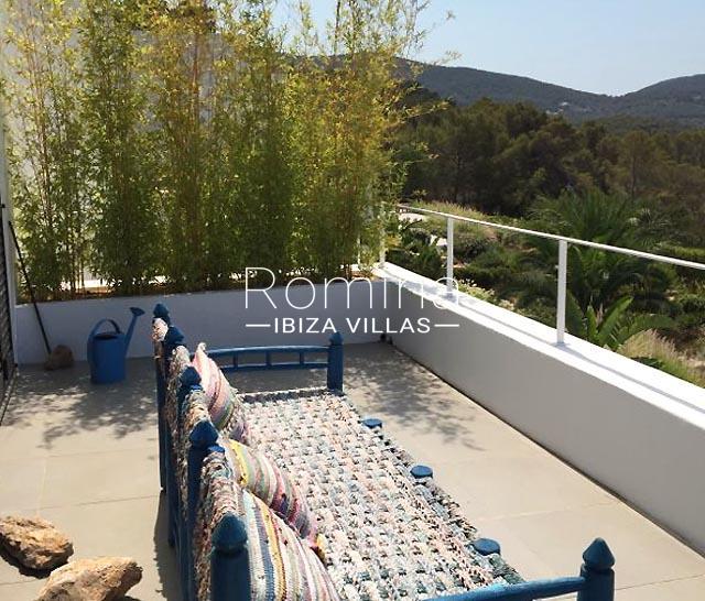 villa namaste ibiza-2terrace bench
