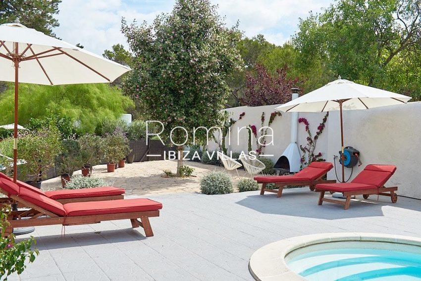 villa punta galera ibiza-2pool terrace garden