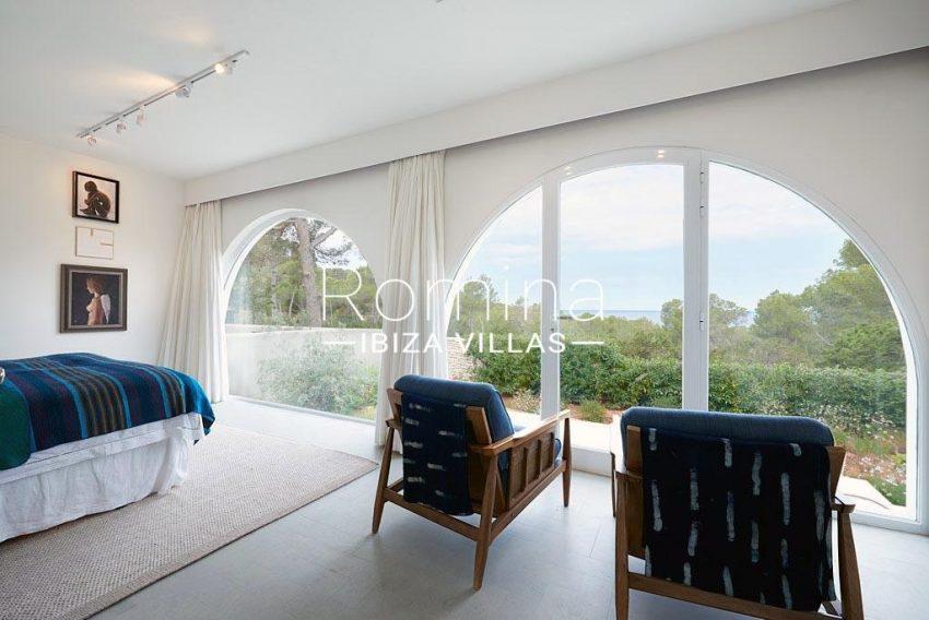 villa punta galera ibiza-4master bedroom2