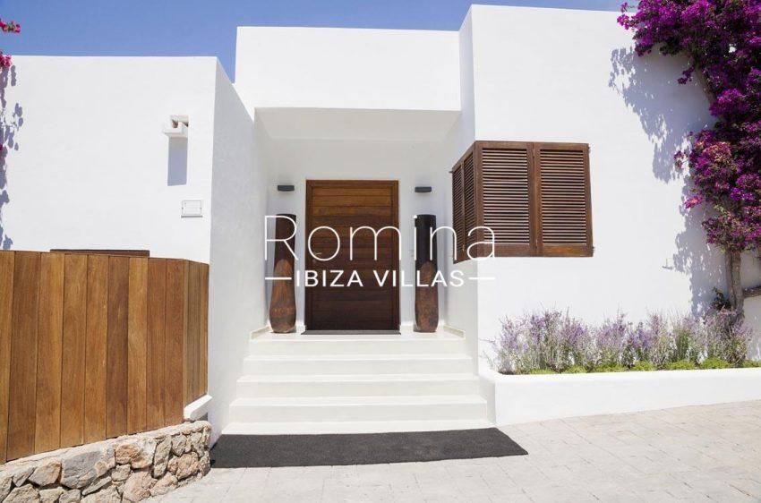 villa topaze ibiza-2entrance door