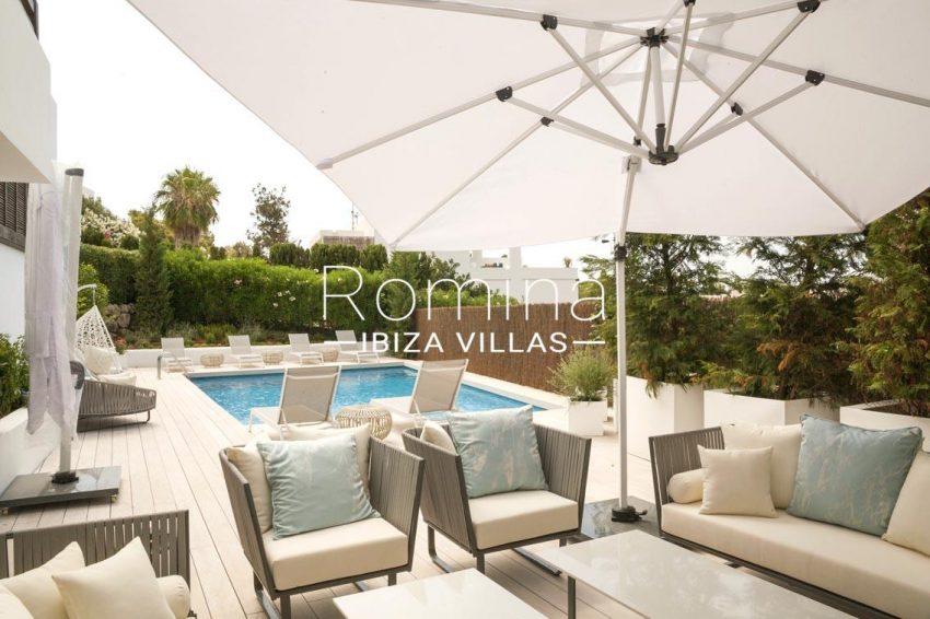 villa topaze ibiza-2pool terraces parasol