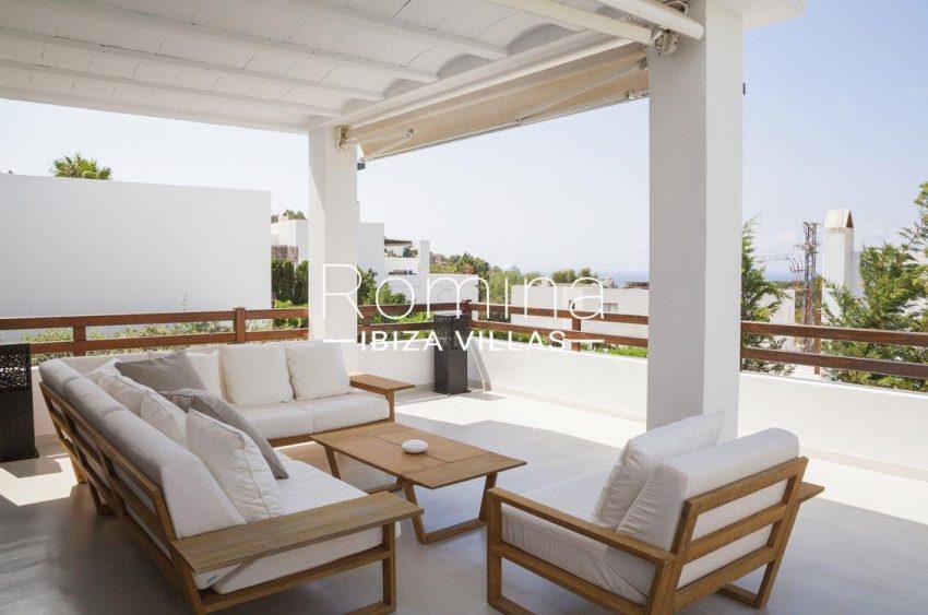villa topaze ibiza-2terrace living are2
