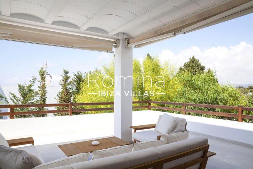 villa topaze ibiza-2terrace living area