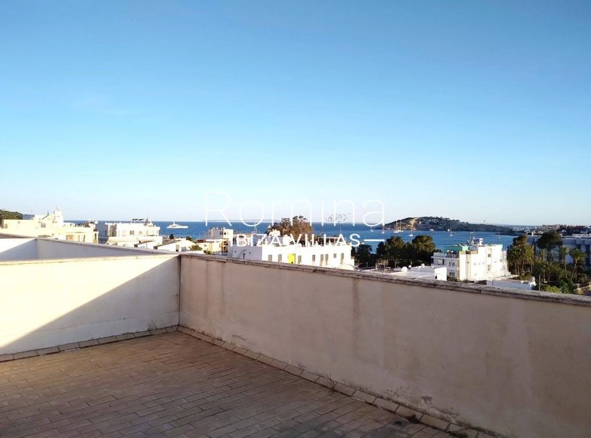 apto talamanca r ibiza-1roof terrace sea view