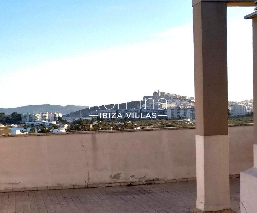 apto talamanca r ibiza-1roof terrace view dalt vila