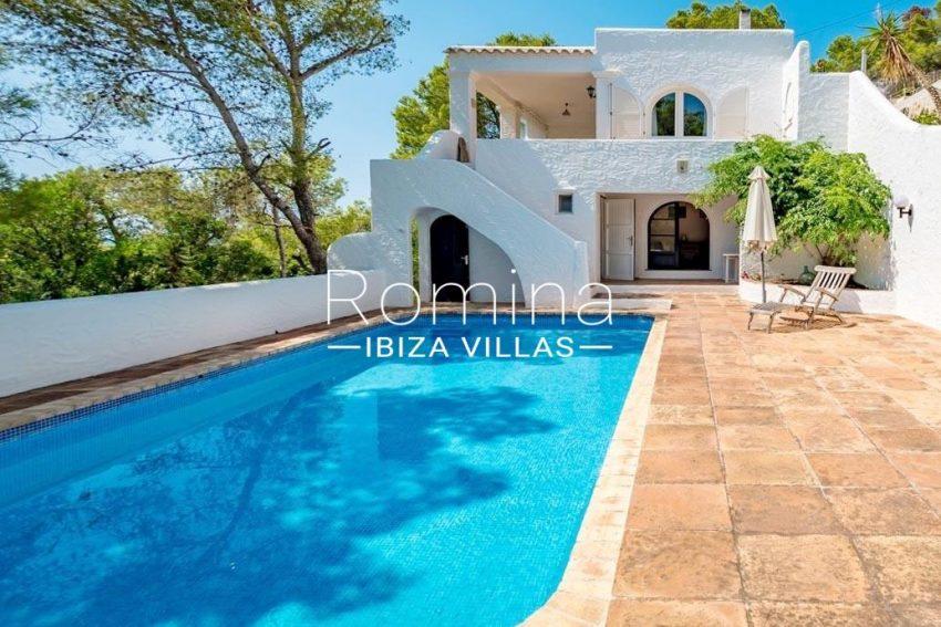 casa tina ibiza-2pool facade