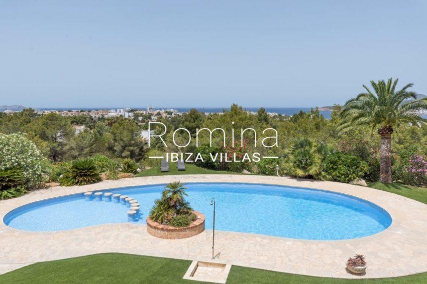 villa sommer ibiza-1pool sea view3