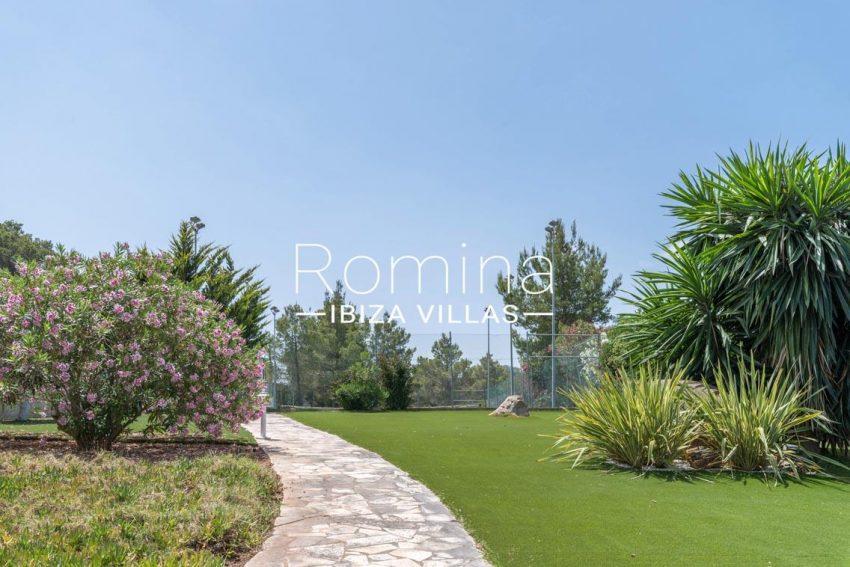 villa sommer ibiza-2garden tennis court