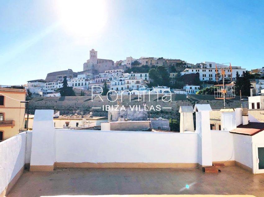 atico port ibiza-1rooftop view dalt vila