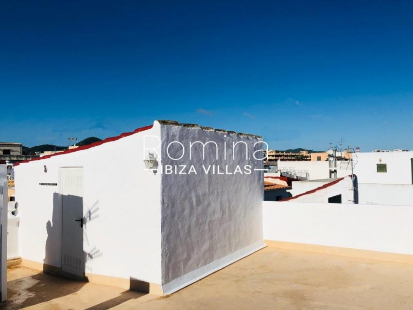 atico port ibiza-2rooftop terrace