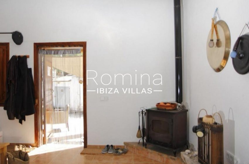 casa romero ibiza-3living room stove