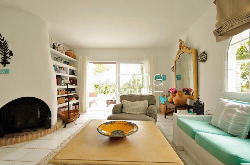 casa summer ibiza-3living room fireplace2