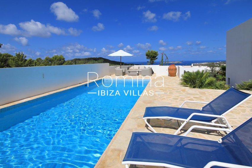 villa capricci ibiza-1pool terrace sea view2