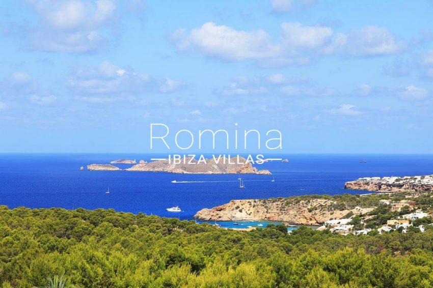 villa capricci ibiza-1sea view islets