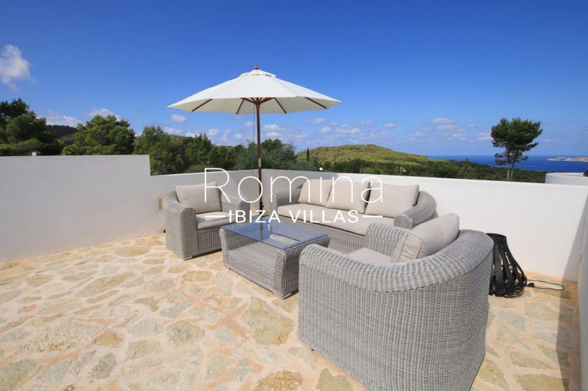 villa capricci ibiza-1terrace lounge sea view2