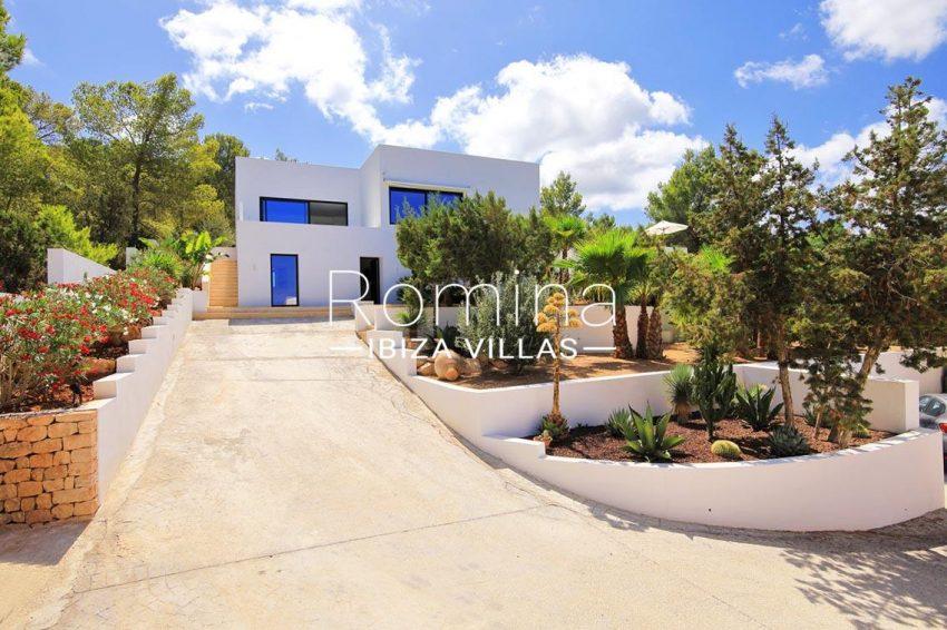 villa capricci ibiza-2facade entrance