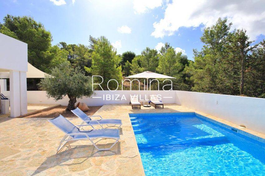 villa capricci ibiza-2pool terrace2