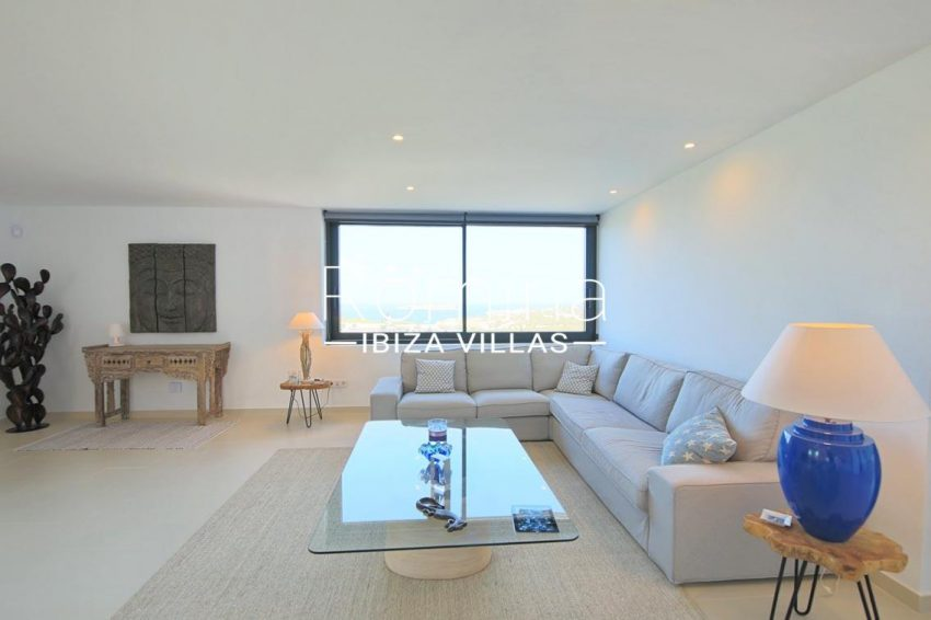 villa capricci ibiza-3living room sea view