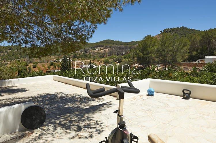 villa palmeras ibiza-2roof terrace