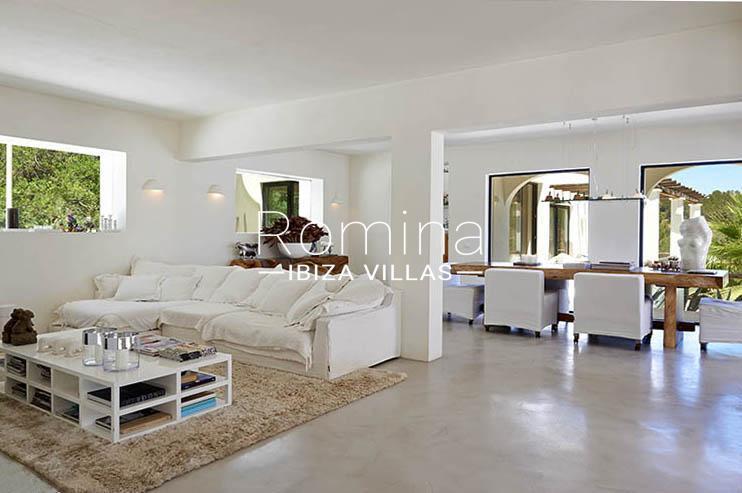 villa palmeras ibiza-3living dining room2