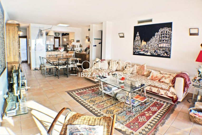 adosado ambra ibiza-3living dining room kitchen