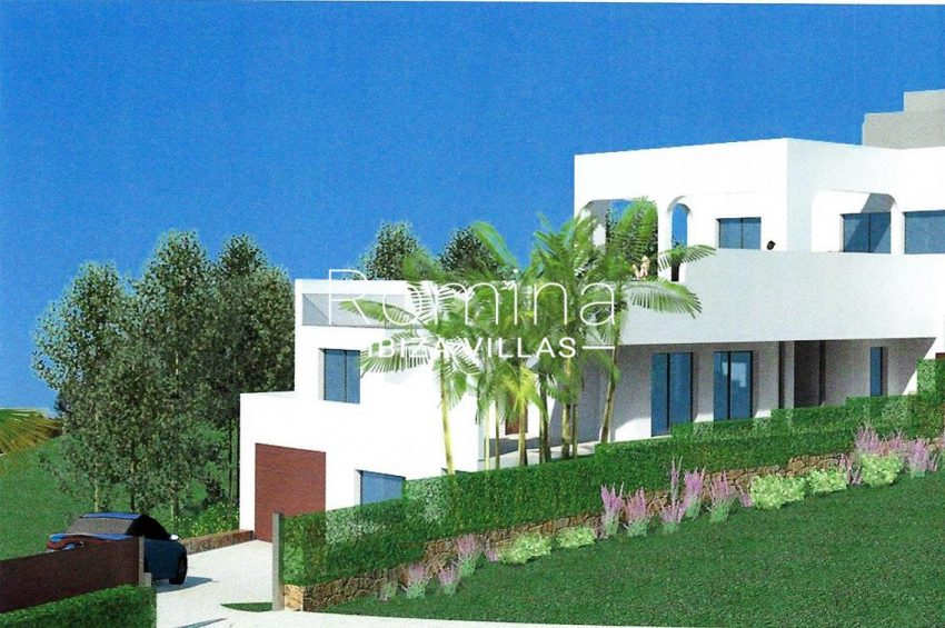 proyecto villa mar ibiza-6render facade