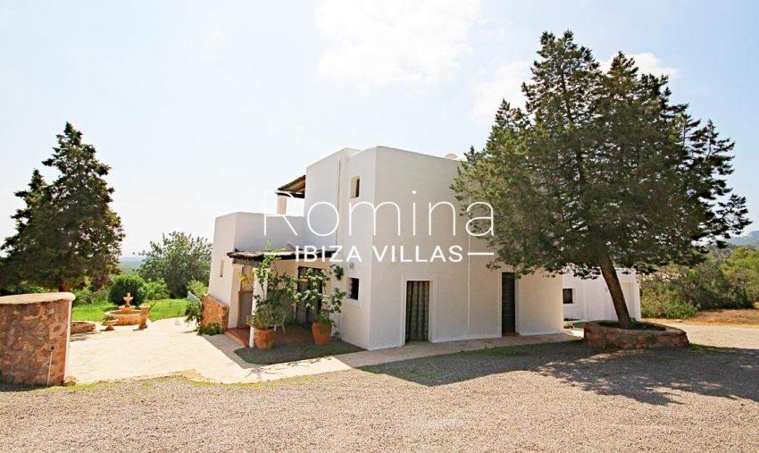 villa artemis ibiza-2rear facade2