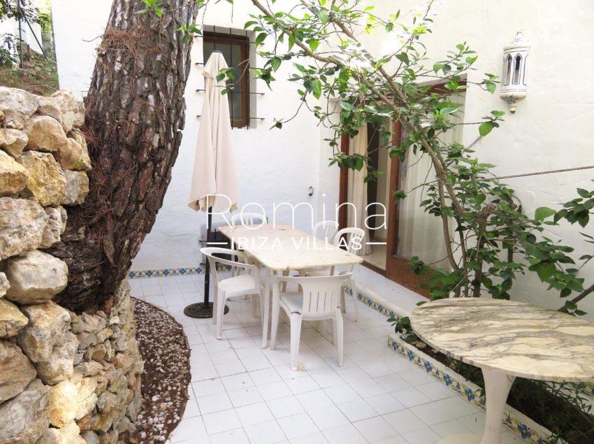 villa kelly ibiza-2terrace dining area2