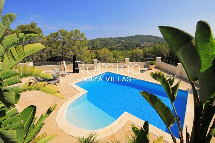 villa shanti ibiza-2pool view hills