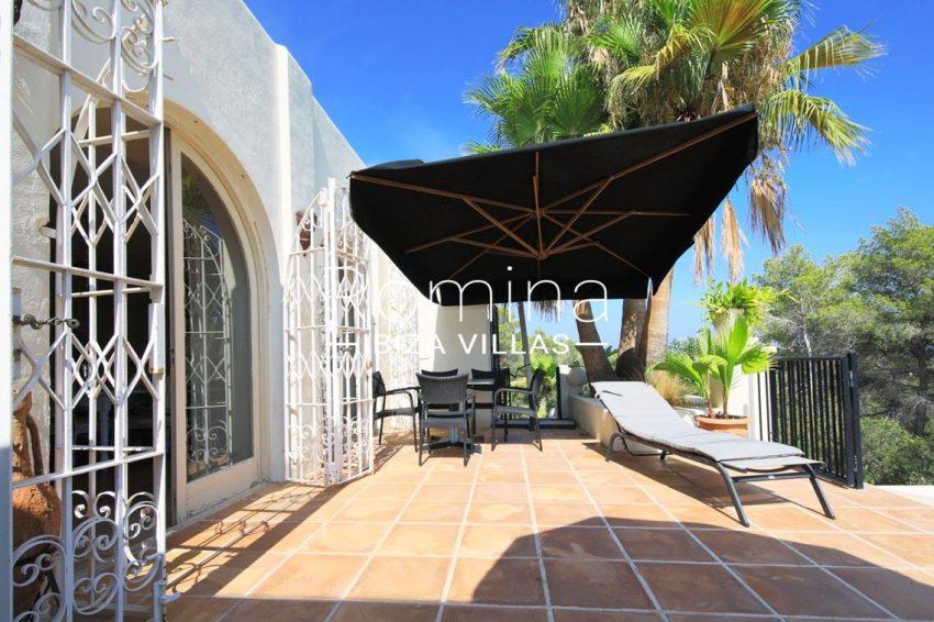 villa shanti ibiza-2terrace dining area