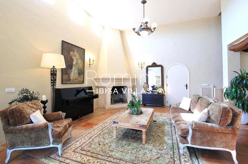 villa shanti ibiza-3living room fireplace3