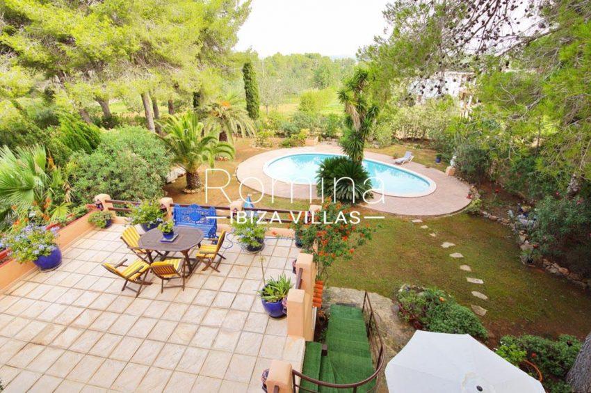 casa ciguena ibiza-2pool garden terrace