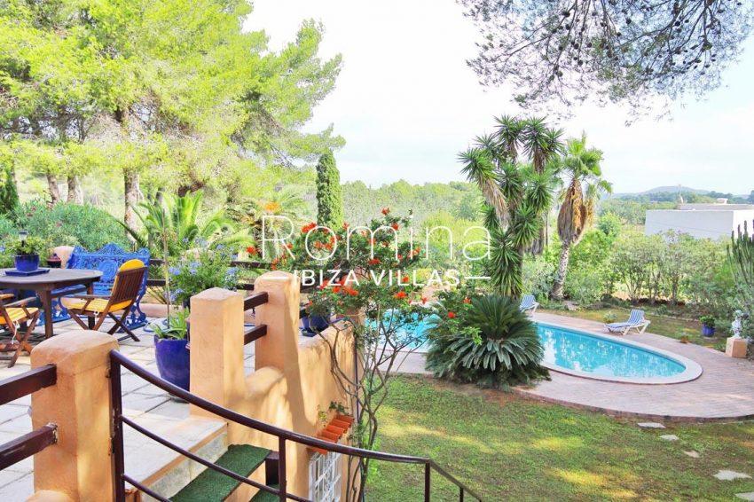 casa ciguena ibiza-2pool garden terrace2