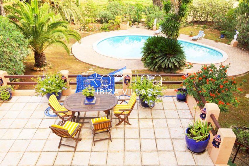 casa ciguena ibiza-2pool garden terrace3