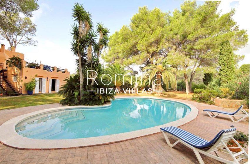 casa ciguena ibiza-2pool terraces