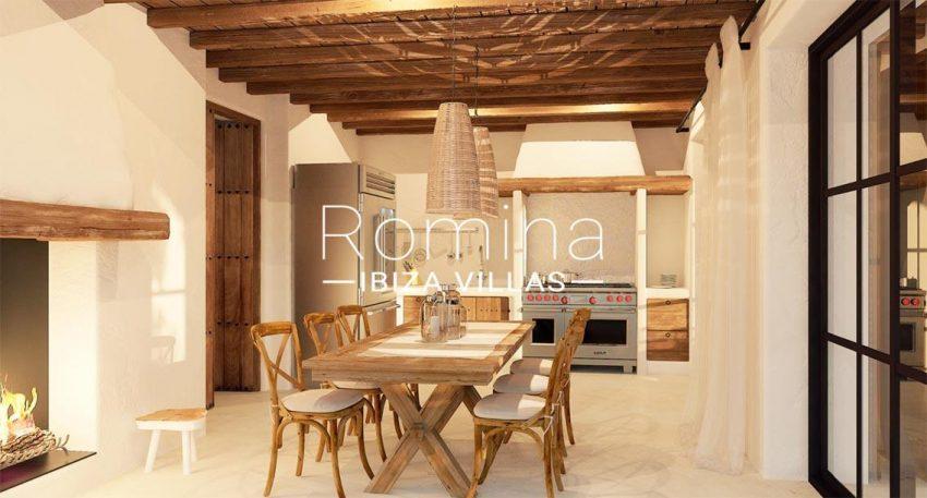 finca nina ibiza-3zdining room