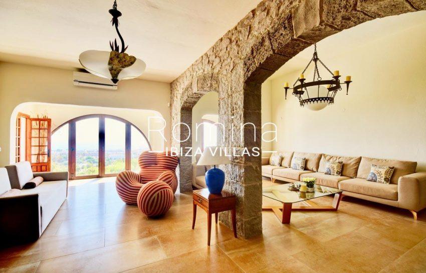 villa gio ibiza-3living room