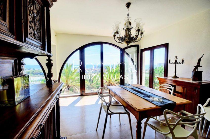 villa gio ibiza-3zdining room seaview