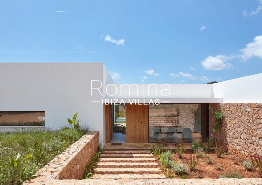 villa hera ibiza-2entrance door