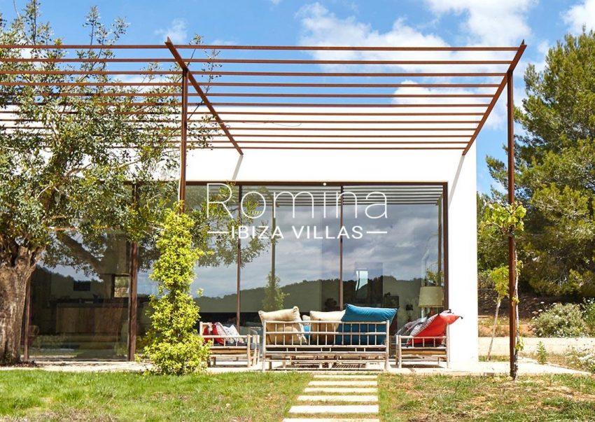 villa hera ibiza-2pergola terrace