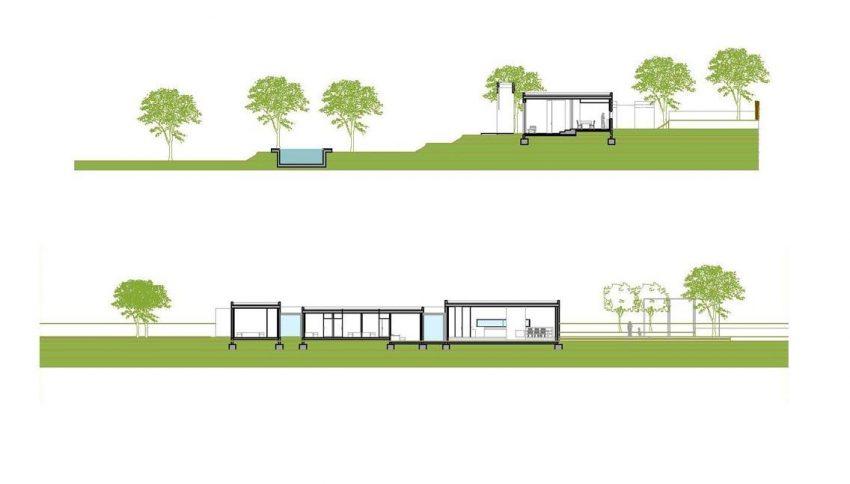 villa hera ibiza-6facade side facade
