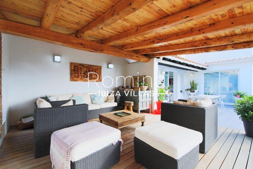 villa hibiscus ibiza-2outdoor summer living area2