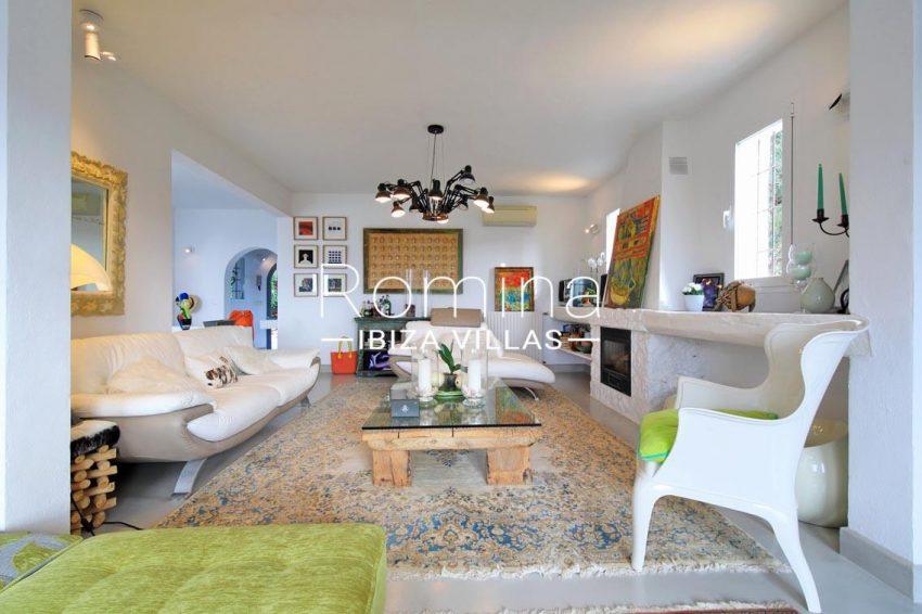 villa hibiscus ibiza-3living room fireplace3