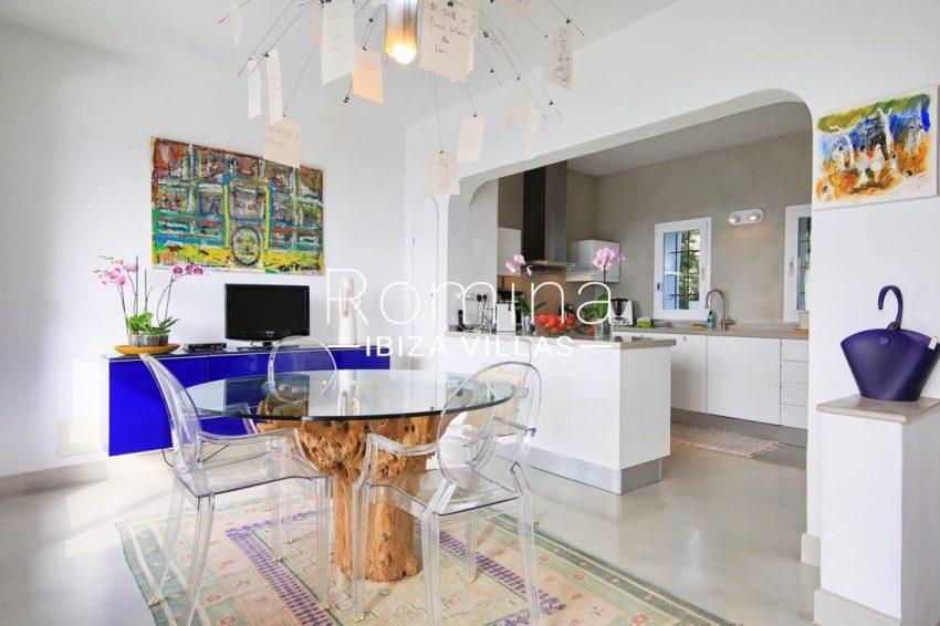 villa hibiscus ibiza-3zdining room kitchen